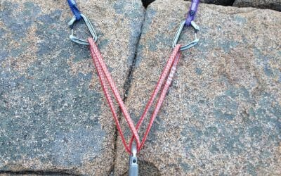 How do i build the perfect climbing rope anchor?