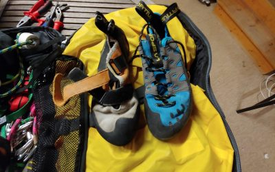 How to Clean Climbing and Bouldering Shoes