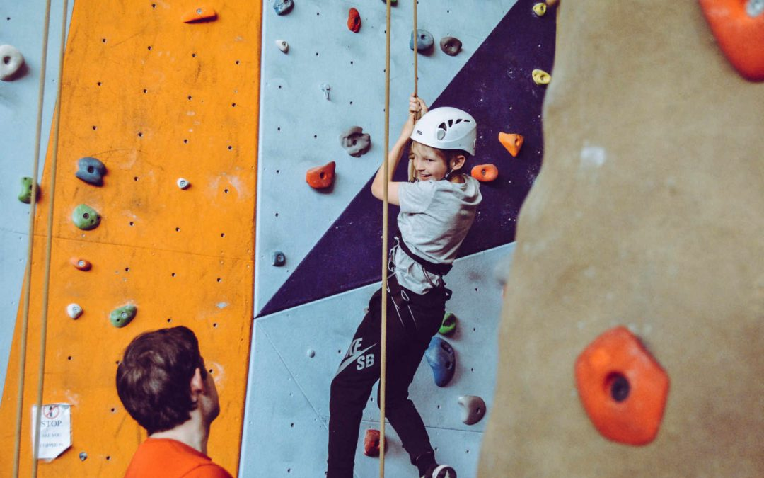 Should i take my kids rock climbing or bouldering?