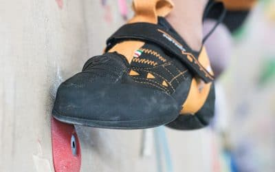 Climbing – what is edging? How to learn it, which shoes to use and why it's a great tool.
