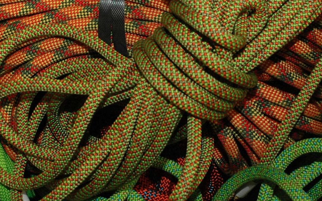How many falls can a climbing rope take?