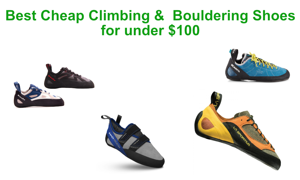 Best Cheap Climbing Shoes for under $100